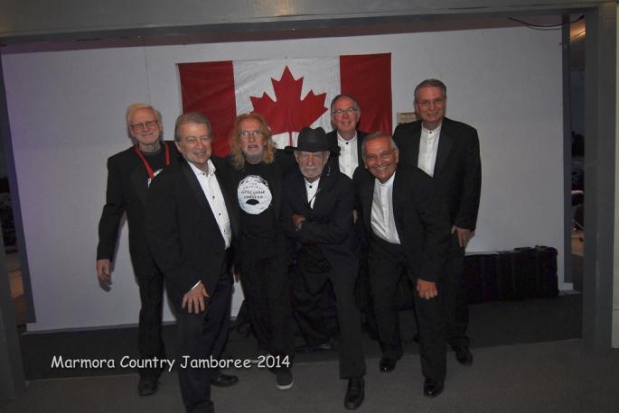 Back row: Russ, Sonny, Walter, Sam; front row: Doug, Norm, Tony